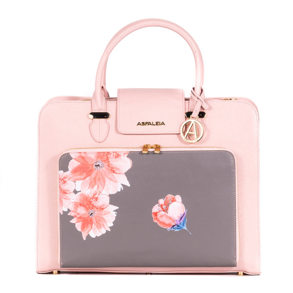 Concealed Carry Laptop Bag in Pink