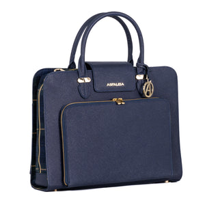 Concealed Carry Laptop Bag in Navy