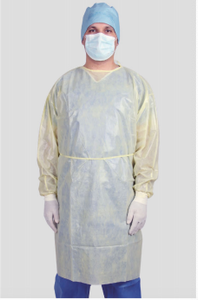Disposable AAMI Level 1 Isolation Gowns MOQ 50,000 Pieces