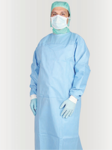 Disposable AAMI Level 3 Surgical Gowns MOQ 50,000 Pieces