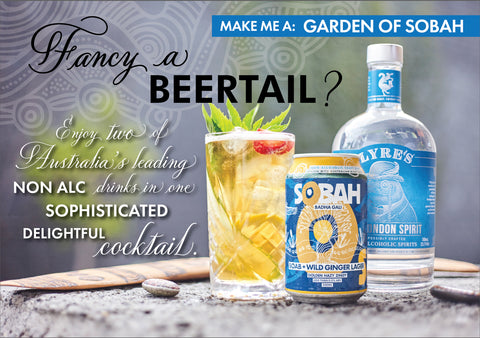 Sobah X Lyres Beertails NA Cocktail Competiton
