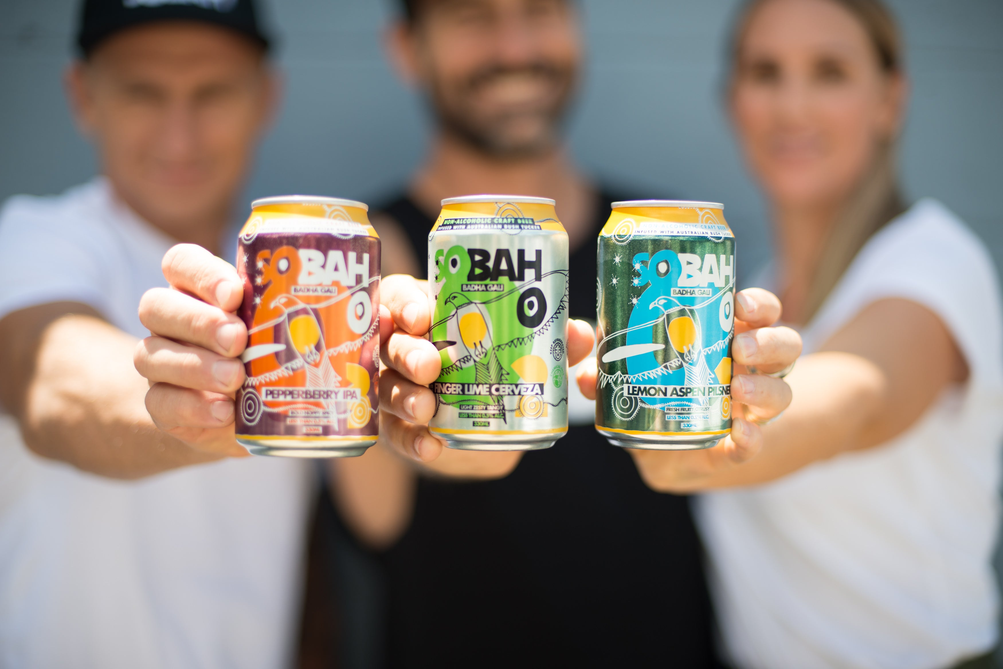 Sobah nonalcoholic craft beer