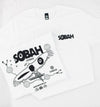 SOBAH Men's fit t-shirt (feat. art on back)