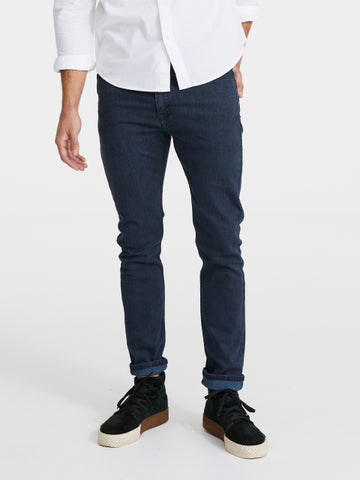 LEVIS 510 SKINNY IN PORCINI BLUE BLACK