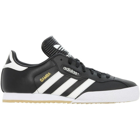 ADIDAS ORIGINALS SAMBA SUPER TRAINERS - BLACK