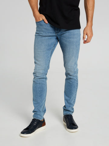 STRETCH SKINNY TAPERED LEG JEAN