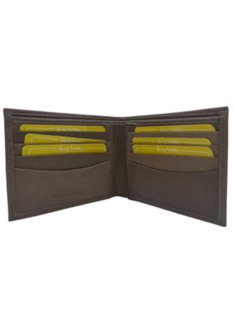 BROWN SOFTY LEATHER WALLET