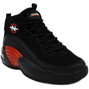 NAUTICA COMPETITION SPARA HIGH TOP IN BLACK