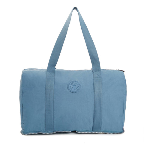 Honest Foldable Duffel Bag - Blue Bird