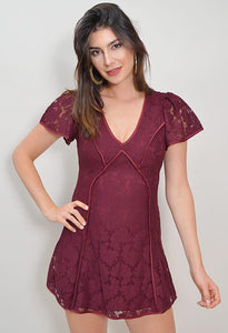 CHIC LOVE LACE DRESS