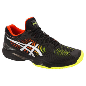 Asics Men's Court FF 2 Tennis Shoes Black and White