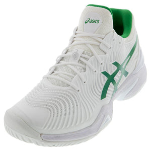 Asics Men's Court FF Novak Tennis Shoes White and Green