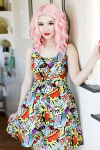 1168 Snack Attack Dress