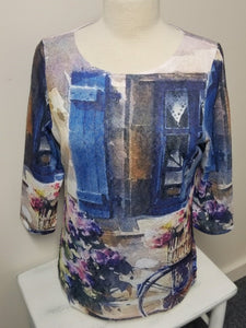 FDJ French Dressing Jeans PROVENCE print top #1345451