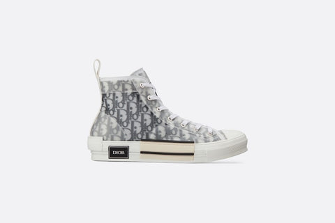 B23 HIGH-TOP SNEAKERS IN DIOR OBLIQUE