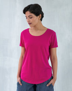 Basic T-shirt - Fuchsia