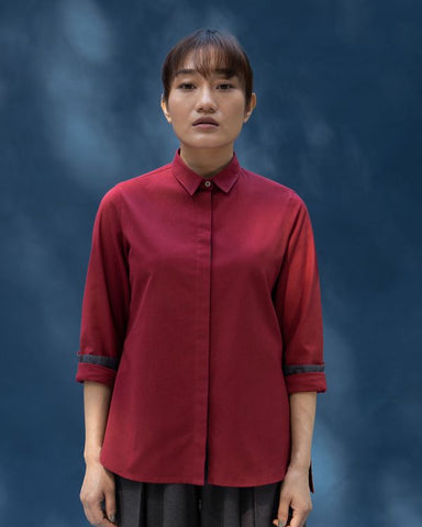 Cantonese Top - Red
