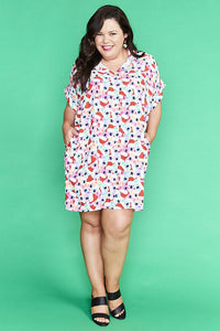Frances Xmas Koalas Shirt Dress
