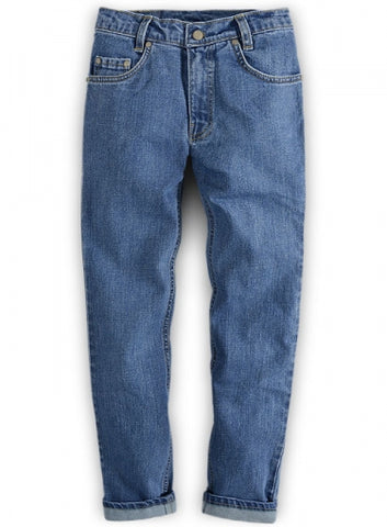 Slight Stretch Jeans - Light Blue