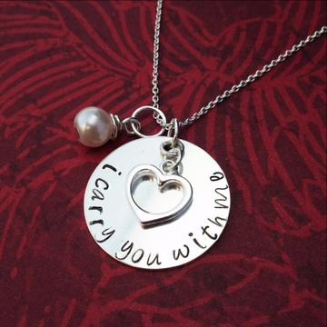 I Carry You With Me Necklace