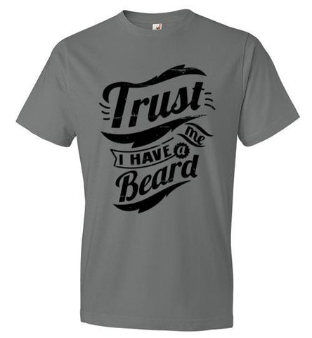 T-Shirt - Trust Me I Have a Beard - Black
