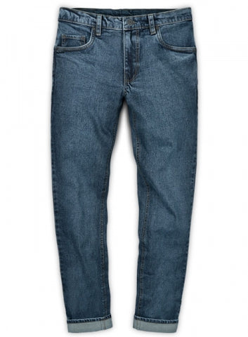 Slight Stretch Jeans - Blast Wash