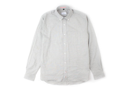Washed Organic Oxford Button Down