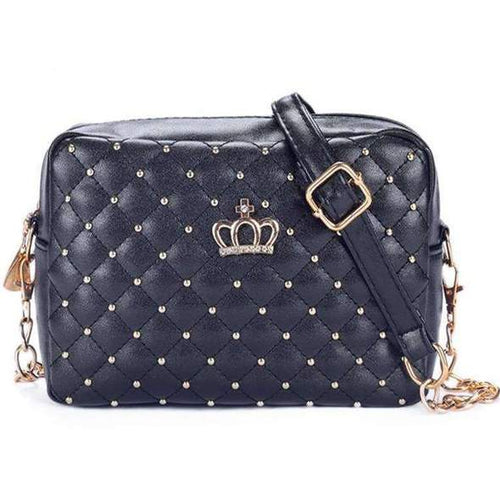 The Quilted Crown Purse