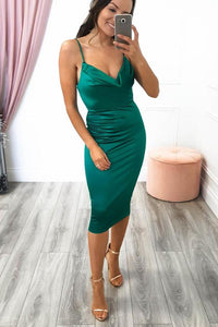 KOURTNEY MIDI DRESS GREEN