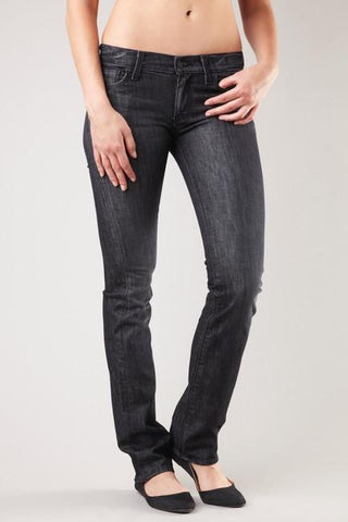 7 FOR ALL MANKIND STUDDED STRAIGHT LEG