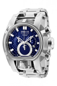 INVICTA RESERVE BOLT MAGNUM MENS QUARTZ 52MM STAINLESS STEEL CASE BLUE DIAL - MODEL 25207