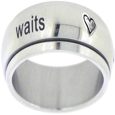Stainless Steel Promise Ring