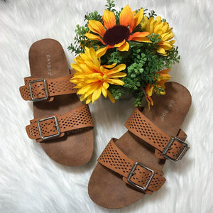 Lacey Sandals - Tan