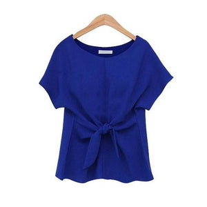 Chiffon Blouse Short sleeves
