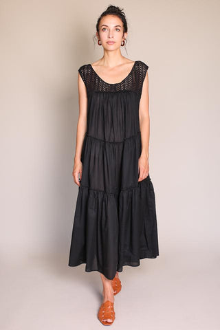 GRENDEL DRESS IN BLACK
