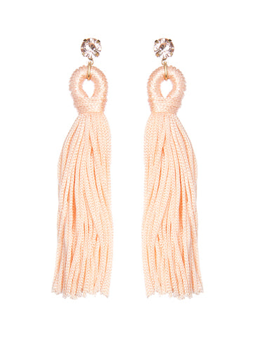 LUXE TASSEL DROP EARRING