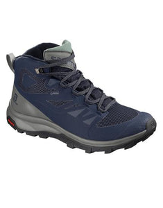 MENS OUTLINE MID GTX WALKING BOOT - MEDIEVAL BLUE