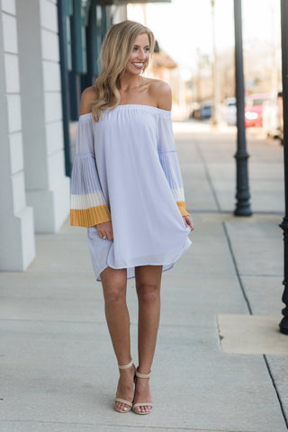Pop Of Personality Dress, Lavender