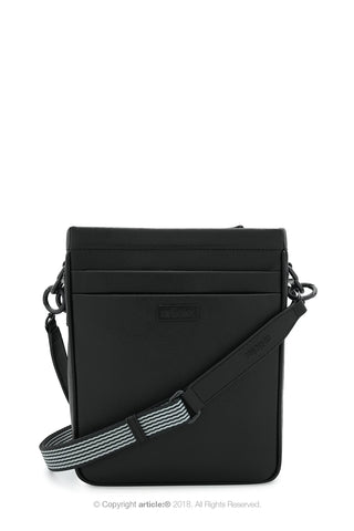 article: #165 Bag Mini Messenger Men - Noir