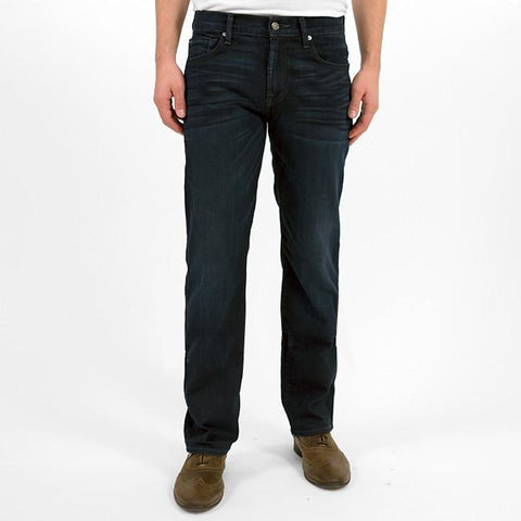 7 FOR ALL MANKIND CARSEN EASY STRAIGHT LEG IN BLUE ICE