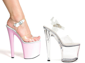 8 Inch Heel Sandal Brook Model