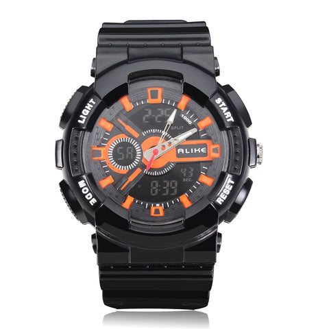 MENS ALIKE WATCHES AK1383 SPORT WATERPROOF MULTIFUNCTION QUARTZ WRIST WATCH