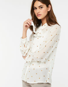INES EMBROIDERED BLOUSE