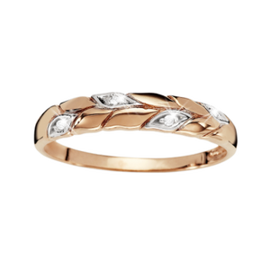 9ct Rose Gold Love Ring