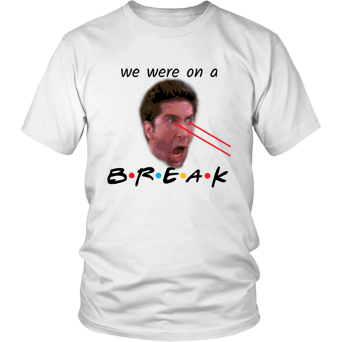 WE WERE ON A BREAK (BLACK TEXT SERIES)