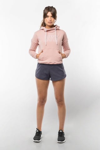 ICON HOODIE - DUSTY PINK