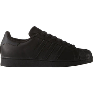 ADIDAS ORIGINALS SUPERSTAR FOUNDATION TRAINERS - BLACK