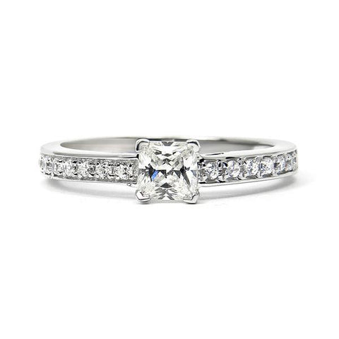 Supernova Ethical Diamond Platinum Engagement Ring