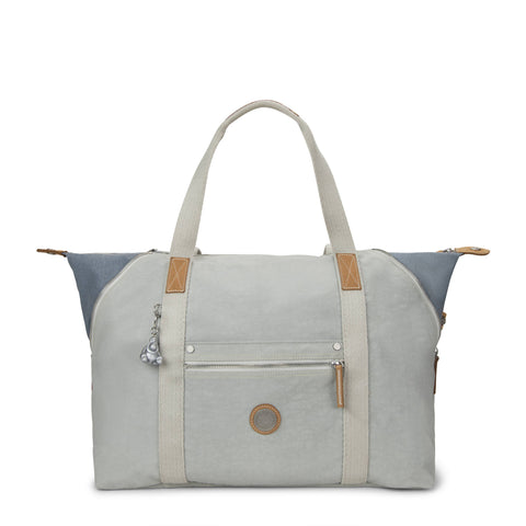 Art M Tote Bag - Pearlized White Eyelet