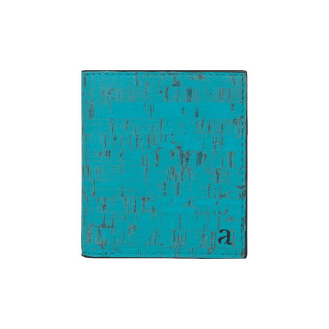 ORION SLIM ID WALLET - TEAL + BLACK